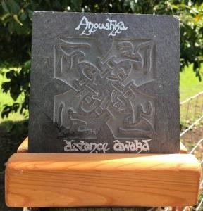 Distance award trophy