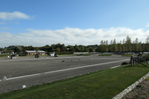 Oval Track set up at Aston-le-Walls